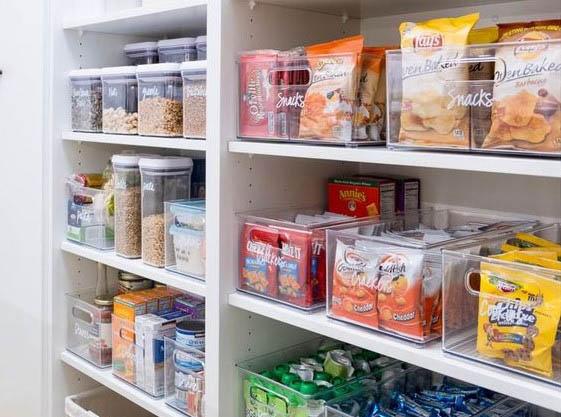 Caixas de Organização para Cozinhas e Despensas