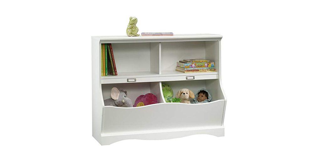 Estante para organizar brinquedos e livros