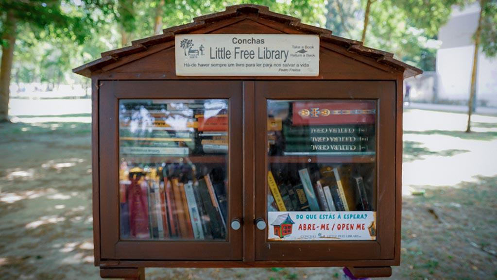 Biblioteca aberta