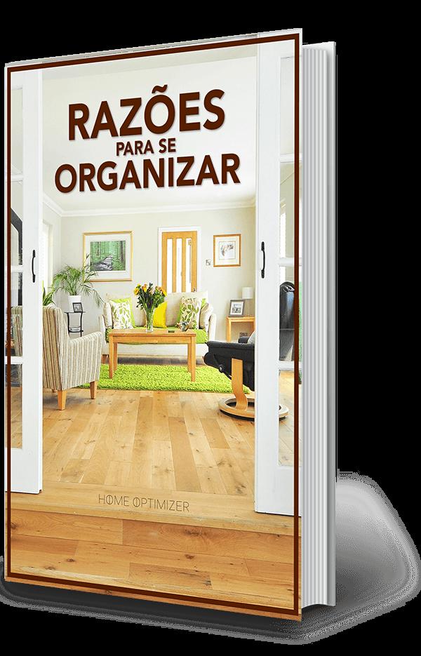 E-book Razões para se organizar - Capa