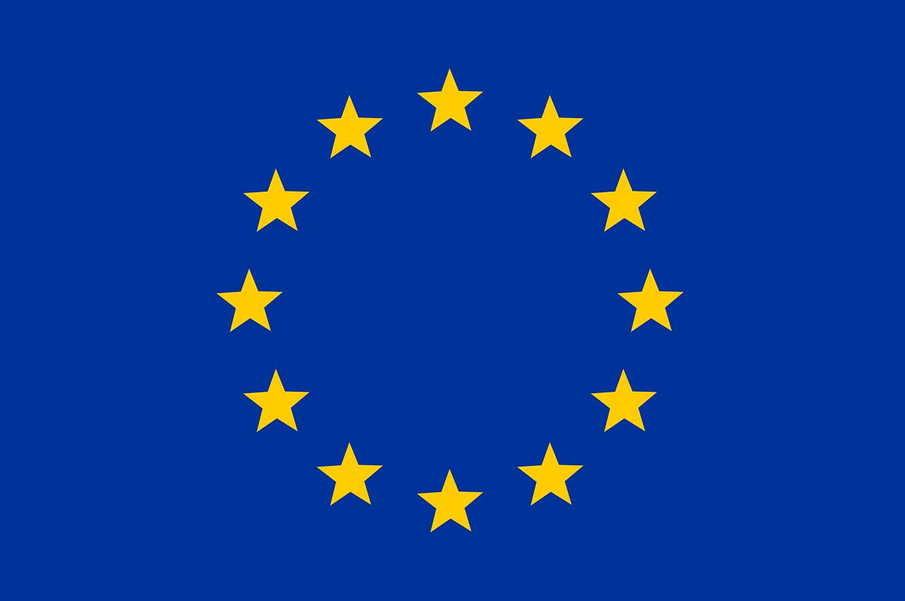 Bandeira Uniao Europeia