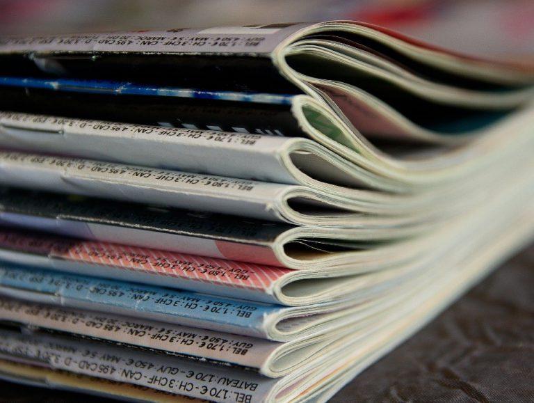 Revistas organizadas