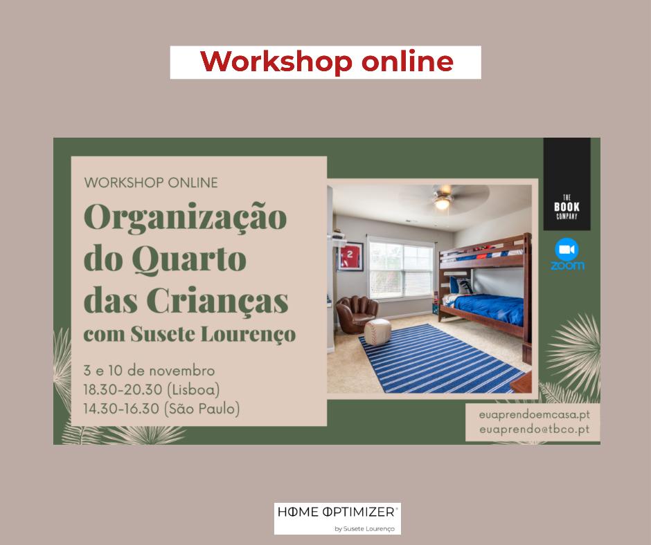 Workshop quarto das crianças