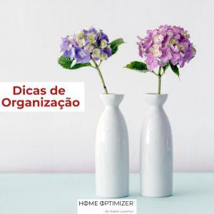 Dicas organizaçao